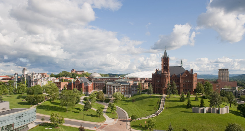 Photo of Syracuse University Campus