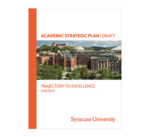 Graphic: Academic Strategic Plan cover
